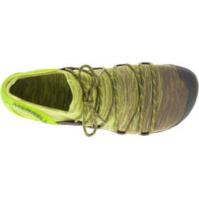 Merrell Vapor Glove 4 3D Calzado Hombre, olive drab/lime punch